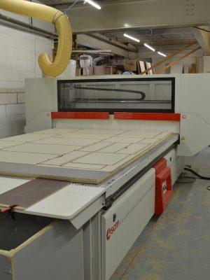 Holmfields CNC machine