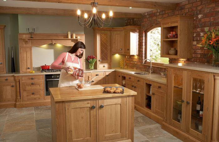 Traditional Oak Kitchen
