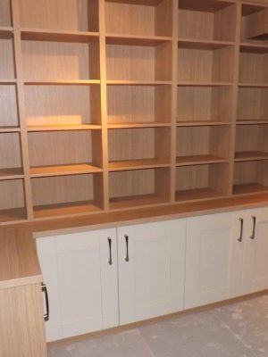 Shelving built to spec