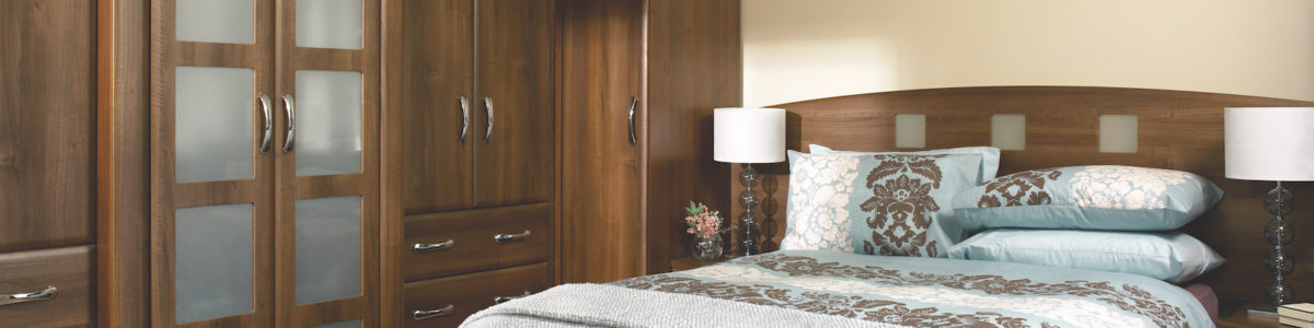 Slab Saponetta DarkWalnut bedroom design