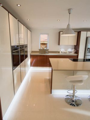 Large space modern gloss