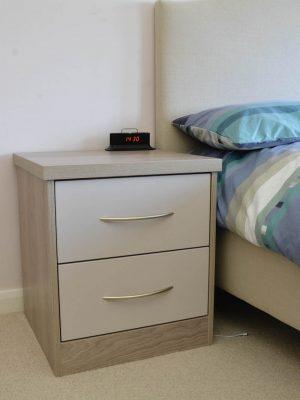 Vasini bedroom bedside cabinet