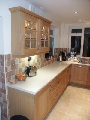Maximising space in small kitchen