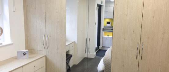 Mirror Look Fitted Wardrobes