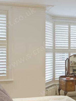 cream shutters
